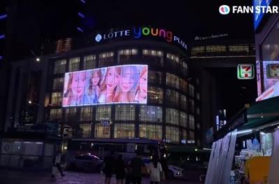 宮崎美穂が誕生日を迎え、日韓ファンから電光掲示板広告で祝われる!