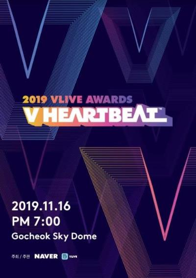 2019 VLIVE AWARD - V HEARTBEAT