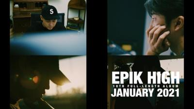 Epik Highが2021年1月に約2年ぶりにカムバック予告!