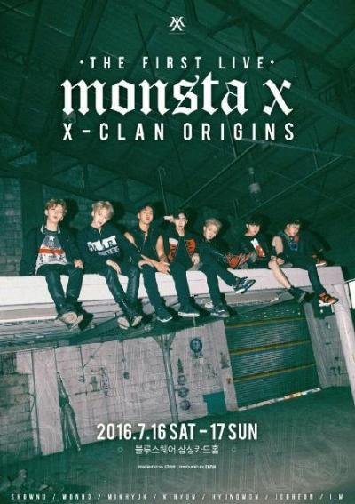 MONSTA X THE FIRST LIVE X CLAN ORIGINS
