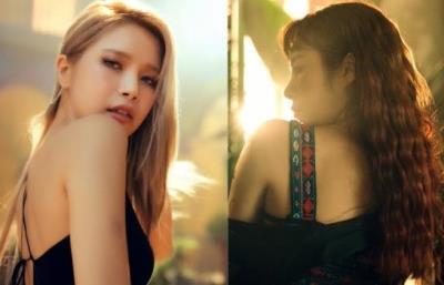 MAMAMOOソラとフィインが16日発表「Red Moon」個人ティーザー映像を公開!