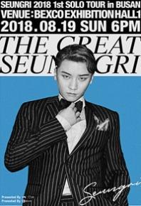 BIGBANGスンリ ソロコンサート釜山公演