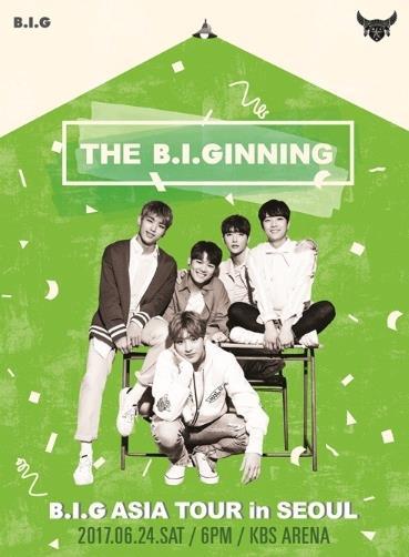 B.I.G アジアツアーIN SEOUL「THE B.I.GINNING」