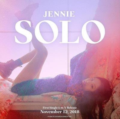 BLACKPINKジェニー新曲「SOLO」が40カ国のiTunesで1位を記録!