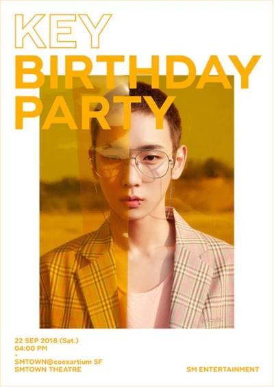 SHINEEキー誕生日パーティー