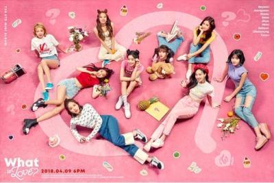 JYP首長パク・チニョンが作詞作曲のTWICE新曲「What is Love」が4月9日公開!