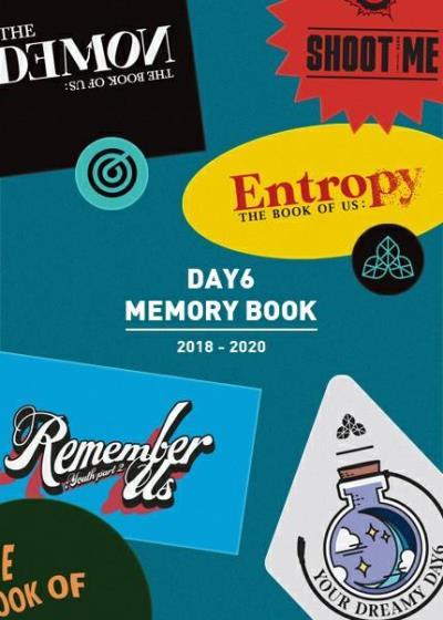 DAY6 MEMORY BOOK購入代行ご予約受付開始!