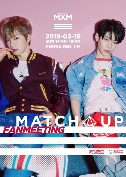 MXM 2ND FANMEETING[MATCH UP]