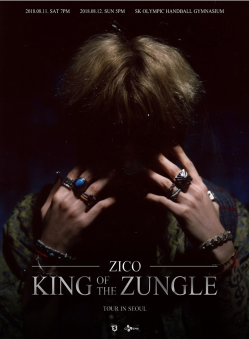 "ZICO ""King Of the Zungle"" TOUR in Seoul"