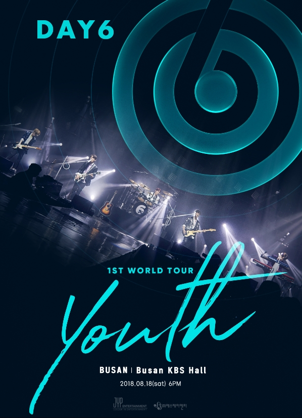 DAY6 1ST WORLD TOUR 'Youth' in BUSAN