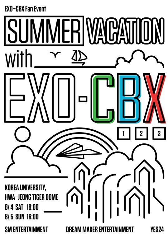 EXO-CBX Fan Event [Summer Vacation with EXO-CBX]