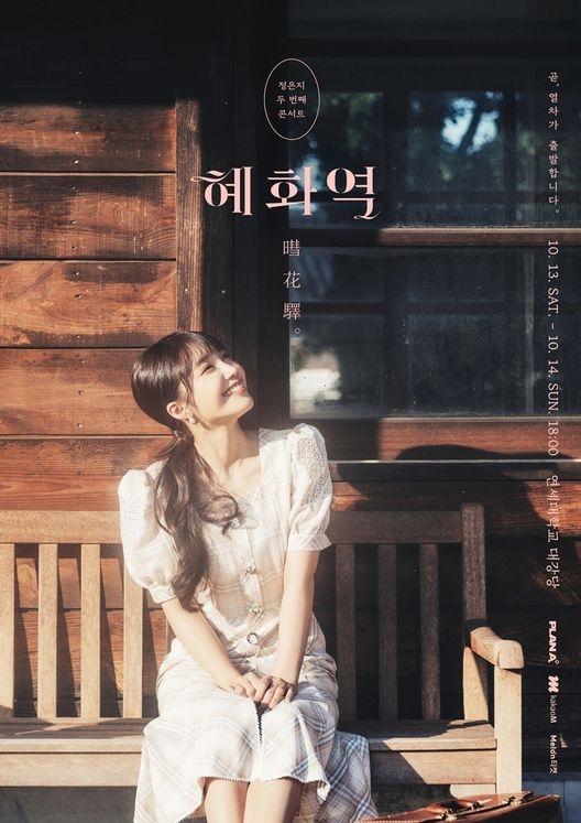 정은지 두 번째 콘서트 〈혜화역(暳花驛)〉