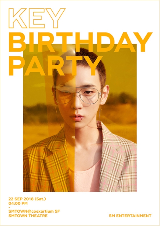 ★ Key ★ BIRTHDAY PARTY