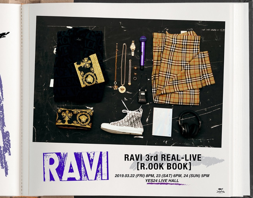 RAVI 3rd REAL-LIVE [R.OOK BOOK]チケット代行