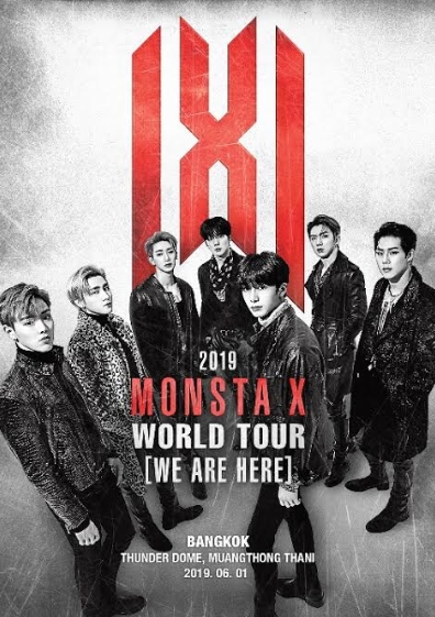 2019 MONSTA X WORLD TOUR <WE ARE HERE> IN BANGKOKチケット代行