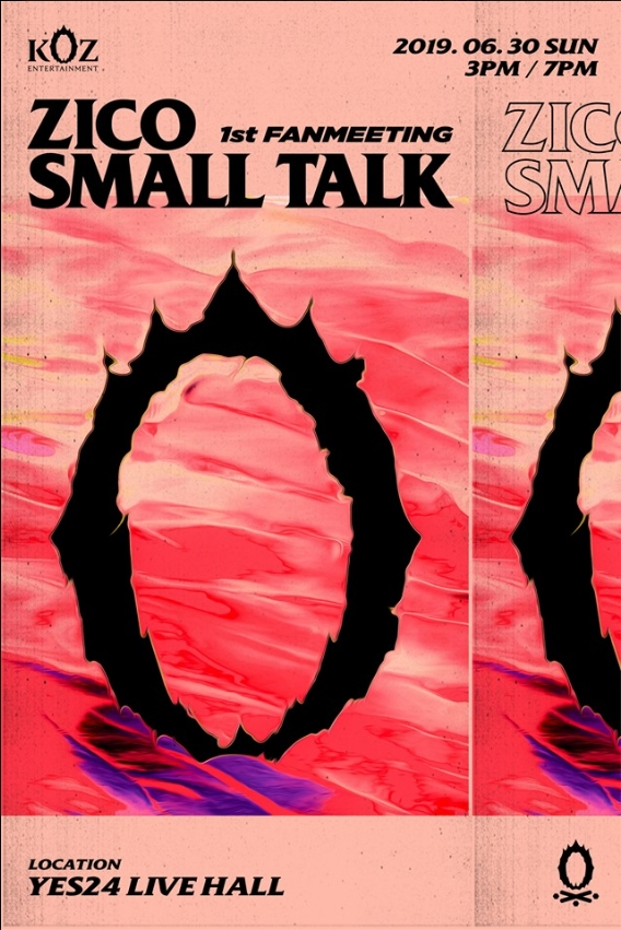ZICO 1st FANMEETING SMALL TALKチケット代行