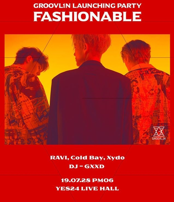 "GROOVL1N LAUNCHING PARTY ""FASHIONABLE"" チケット代行"