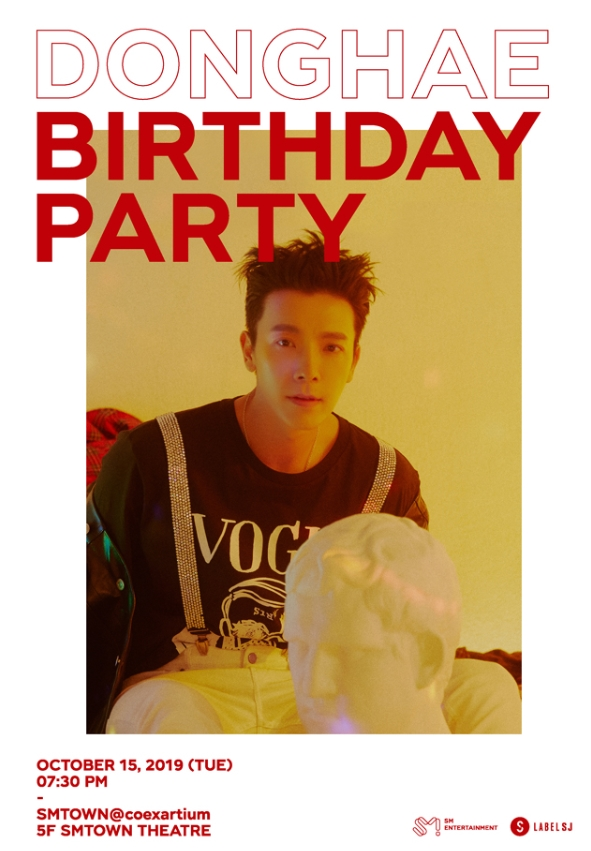 DONGHAE  BIRTHDAY PARTYチケット代行