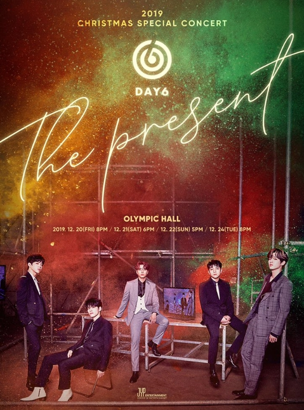DAY6 2019 Christmas Special Concert 'The Present' チケット代行