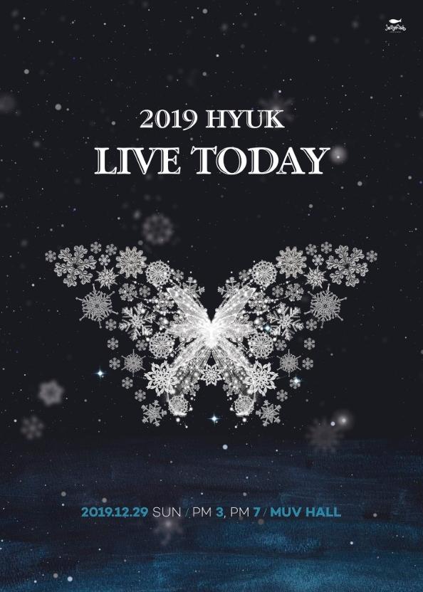 2019 HYUK LIVE TODAYチケット代行
