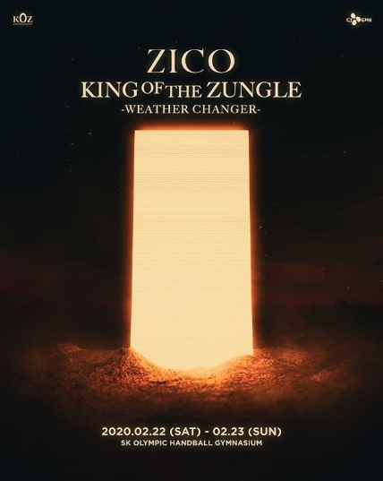 ZICO 2nd King Of the Zungle - WEATHER CHANGERチケット代行
