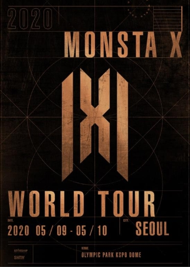2020 MONSTA X WORLD TOUR IN SEOULチケット代行